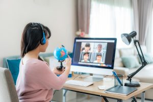 Effective online teaching strategies with video conferencing